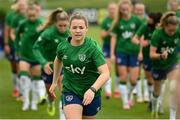 15 September 2021; Emily Whelan during a Republic of Ireland training session at the FAI National Training Centre in Abbotstown, Dublin. Photo by Stephen McCarthy/Sportsfile
