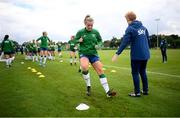15 September 2021; Saoirse Noonan during a Republic of Ireland training session at the FAI National Training Centre in Abbotstown, Dublin. Photo by Stephen McCarthy/Sportsfile
