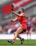 12 September 2021; Orla Cronin of Cork during the All-Ireland Senior Camogie Championship Final match between Cork and Galway at Croke Park in Dublin. Photo by Ben McShane/Sportsfile