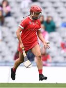 12 September 2021; Fiona Keating of Cork during the All-Ireland Senior Camogie Championship Final match between Cork and Galway at Croke Park in Dublin. Photo by Ben McShane/Sportsfile