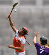 12 September 2021; Bernie Murray of Armagh during the All-Ireland Premier Junior Camogie Championship Final match between Armagh and Wexford at Croke Park in Dublin. Photo by Ben McShane/Sportsfile