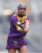 12 September 2021; Chloe Cashe of Wexford during the All-Ireland Premier Junior Camogie Championship Final match between Armagh and Wexford at Croke Park in Dublin. Photo by Ben McShane/Sportsfile