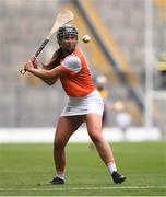 12 September 2021; Ciara Donnelly of Armagh during the All-Ireland Premier Junior Camogie Championship Final match between Armagh and Wexford at Croke Park in Dublin. Photo by Ben McShane/Sportsfile