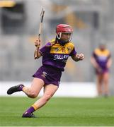 12 September 2021; Ciara Banville of Wexford during the All-Ireland Premier Junior Camogie Championship Final match between Armagh and Wexford at Croke Park in Dublin. Photo by Ben McShane/Sportsfile