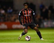 17 September 2021; Roland Idowu of Bohemians during the extra.ie FAI Cup Quarter-Final match between Bohemians and Maynooth University Town at Dalymount Park in Dublin. Photo by Stephen McCarthy/Sportsfile