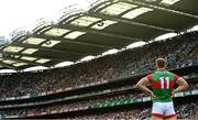11 September 2021; Aidan O'Shea of Mayo during the GAA Football All-Ireland Senior Championship Final match between Mayo and Tyrone at Croke Park in Dublin. Photo by Ramsey Cardy/Sportsfile
