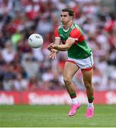 11 September 2021; Oisín Mullin of Mayo during the GAA Football All-Ireland Senior Championship Final match between Mayo and Tyrone at Croke Park in Dublin. Photo by Ramsey Cardy/Sportsfile