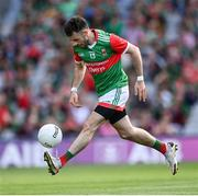 11 September 2021; Kevin McLoughlin of Mayo during the GAA Football All-Ireland Senior Championship Final match between Mayo and Tyrone at Croke Park in Dublin. Photo by Ramsey Cardy/Sportsfile