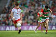 11 September 2021; Conor Meyler of Tyrone gets away from Conor Loftus of Mayo during the GAA Football All-Ireland Senior Championship Final match between Mayo and Tyrone at Croke Park in Dublin. Photo by Ramsey Cardy/Sportsfile