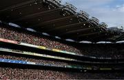 11 September 2021; A general view of the Cusack Stand during the GAA Football All-Ireland Senior Championship Final match between Mayo and Tyrone at Croke Park in Dublin. Photo by Ramsey Cardy/Sportsfile