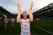 11 September 2021; Hugh Pat McGeary of Tyrone after the GAA Football All-Ireland Senior Championship Final match between Mayo and Tyrone at Croke Park in Dublin. Photo by Ramsey Cardy/Sportsfile