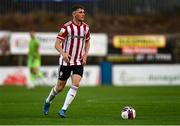 27 August 2021; Ronan Boyce of Derry City during the extra.ie FAI Cup Second Round match between Finn Harps and Derry City at Finn Park in Ballybofey, Donegal. Photo by Ramsey Cardy/Sportsfile