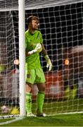 20 September 2021; Derry City goalkeeper Nathan Gartside during the SSE Airtricity League Premier Division match between Bohemians and Derry City at Dalymount Park in Dublin. Photo by Seb Daly/Sportsfile