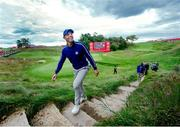 21 September 2021; Rory McIlroy of Team Europe during a practice round prior to the Ryder Cup 2021 Matches at Whistling Straits in Kohler, Wisconsin, USA. Photo by Tom Russo/Sportsfile
