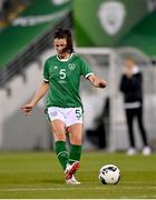 21 September 2021; Niamh Fahey of Republic of Ireland during the women's international friendly match between Republic of Ireland and Australia at Tallaght Stadium in Dublin. Photo by Seb Daly/Sportsfile