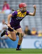 12 September 2021; Ciara Banville of Wexford during the All-Ireland Premier Junior Camogie Championship Final match between Armagh and Wexford at Croke Park in Dublin. Photo by Piaras Ó Mídheach/Sportsfile