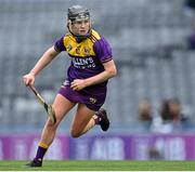 12 September 2021; Ailis Neville of Wexford during the All-Ireland Premier Junior Camogie Championship Final match between Armagh and Wexford at Croke Park in Dublin. Photo by Piaras Ó Mídheach/Sportsfile