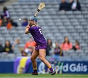 12 September 2021; Chloe Cashe of Wexford during the All-Ireland Premier Junior Camogie Championship Final match between Armagh and Wexford at Croke Park in Dublin. Photo by Piaras Ó Mídheach/Sportsfile