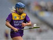 12 September 2021; Emma Codd of Wexford during the All-Ireland Premier Junior Camogie Championship Final match between Armagh and Wexford at Croke Park in Dublin. Photo by Piaras Ó Mídheach/Sportsfile