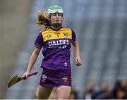 12 September 2021; Wexford goalkeeper Lara O'Shea during the All-Ireland Premier Junior Camogie Championship Final match between Armagh and Wexford at Croke Park in Dublin. Photo by Piaras Ó Mídheach/Sportsfile