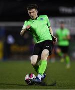 21 September 2021; Dan Hawkins of Finn Harps during the extra.ie FAI Cup Quarter-Final Replay match between Dundalk and Finn Harps at Oriel Park in Dundalk, Louth. Photo by Ben McShane/Sportsfile
