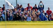 24 September 2021; Rory McIlroy of Team Europe during his Friday morning foursomes match with Ian Poulter against Patrick Cantlay and Xander Schauffele of Team USA at the Ryder Cup 2021 Matches at Whistling Straits in Kohler, Wisconsin, USA. Photo by Tom Russo/Sportsfile