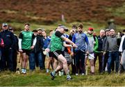 25 September 2021; Paddy McKillian of Tyrone during the M. Donnelly GAA All-Ireland Poc Fada finals at Annaverna Mountain in the Cooley Peninsula, Ravensdale, Louth. Photo by Ben McShane/Sportsfile