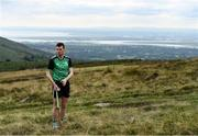 25 September 2021; Darren Geoghegan of Louth checks the wind during the M. Donnelly GAA All-Ireland Poc Fada finals at Annaverna Mountain in the Cooley Peninsula, Ravensdale, Louth. Photo by Ben McShane/Sportsfile