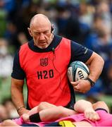 25 September 2021; Leinster forwards and scrum coach Robin McBryde before the United Rugby Championship match between Leinster and Vodacom Bulls at the Aviva Stadium in Dublin. Photo by Harry Murphy/Sportsfile