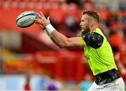 25 September 2021; RG Snyman of Munster before the United Rugby Championship match between Munster and Cell C Sharks at Thomond Park in Limerick. Photo by Seb Daly/Sportsfile