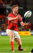25 September 2021; Ben Healy of Munster during the United Rugby Championship match between Munster and Cell C Sharks at Thomond Park in Limerick. Photo by Seb Daly/Sportsfile