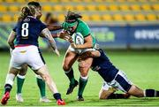 25 September 2021; Lindsay Peat of Ireland during the Rugby World Cup 2022 Europe qualifying tournament match between Ireland and Scotland at Stadio Sergio Lanfranchi in Parma, Italy. Photo by Roberto Bregani/Sportsfile