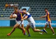 26 September 2021; Paul Mannion of Kilmacud Crokes in action against Liam McGovern of St Vincents during the Go Ahead Dublin Senior Club Football Championship Group 2 match between Kilmacud Crokes and St Vincents at Parnell Park in Dublin. Photo by David Fitzgerald/Sportsfile