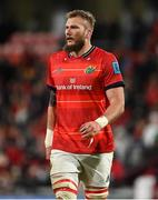 2 October 2021; RG Snyman of Munster during the United Rugby Championship match between Munster and DHL Stormers at Thomond Park in Limerick. Photo by Brendan Moran/Sportsfile