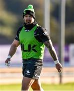 5 October 2021; Sammy Arnold during a Connacht Rugby squad training session at The Sportsground in Galway. Photo by Piaras Ó Mídheach/Sportsfile