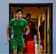 5 October 2021; Ireland captain Sean Murray before an international friendly match between Ireland and Malaysia at Lisnagarvey Hockey Club in Hillsborough, Down. Photo by Ramsey Cardy/Sportsfile