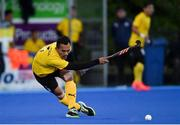 5 October 2021; Marhan Jalil of Malaysia during an international friendly match between Ireland and Malaysia at Lisnagarvey Hockey Club in Hillsborough, Down. Photo by Ramsey Cardy/Sportsfile