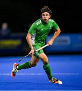 5 October 2021; Daragh Walsh of Ireland during an international friendly match between Ireland and Malaysia at Lisnagarvey Hockey Club in Hillsborough, Down. Photo by Ramsey Cardy/Sportsfile