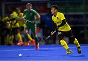 5 October 2021; Azuan Hasan of Malaysia during an international friendly match between Ireland and Malaysia at Lisnagarvey Hockey Club in Hillsborough, Down. Photo by Ramsey Cardy/Sportsfile