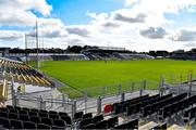 10 October 2021; A general view of a the pitch before the Kilkenny County Senior Hurling Championship quarter-final match between James Stephen's and Dicksboro at UPMC Nowlan Park in Kilkenny. Photo by Piaras Ó Mídheach/Sportsfile