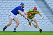 10 October 2021; Alan Connolly of Blackrock in action against Jamie Burns of St Finbarr's during the Cork County Senior Club Hurling Championship Round 3 match between Blackrock and St Finbarr's at Pairc Ui Chaoimh in Cork. Photo by Brendan Moran/Sportsfile