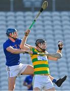 10 October 2021; Shane O'Keeffe of Blackrock in action against Jamie Burns of St Finbarr's during the Cork County Senior Club Hurling Championship Round 3 match between Blackrock and St Finbarr's at Pairc Ui Chaoimh in Cork. Photo by Brendan Moran/Sportsfile