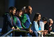 10 October 2021; Republic of Ireland coaches including David Meyler, centre, during the UEFA U17 Championship Qualifying Round Group 5 match between Poland and Andorra at The Mardyke in Cork. Photo by Eóin Noonan/Sportsfile