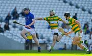 10 October 2021; Conor Cahalane of St Finbarr's races clear of John O'Sullivan of Blackrock during the Cork County Senior Club Hurling Championship Round 3 match between Blackrock and St Finbarr's at Pairc Ui Chaoimh in Cork. Photo by Brendan Moran/Sportsfile