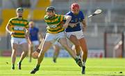 10 October 2021; Gary Norberg of Blakcrock in action against Brian Hayes of St Finbarr's during the Cork County Senior Club Hurling Championship Round 3 match between Blackrock and St Finbarr's at Pairc Ui Chaoimh in Cork. Photo by Brendan Moran/Sportsfile