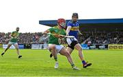 10 October 2021; Eoin O'Neill of Dunloy in action against Stephen Shannon of O'Donovan Rossa during the Antrim County Senior Club Hurling Championship Final match between Dunloy and O'Donovan Rossa at Corrigan Park in Belfast. Photo by Ramsey Cardy/Sportsfile