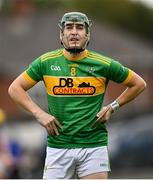 10 October 2021; Paul Shiels of Dunloy before the Antrim County Senior Club Hurling Championship Final match between Dunloy and O'Donovan Rossa at Corrigan Park in Belfast. Photo by Ramsey Cardy/Sportsfile