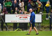 10 October 2021; O'Donovan Rossa manager Cóilín Ó Murchíú before the Antrim County Senior Club Hurling Championship Final match between Dunloy and O'Donovan Rossa at Corrigan Park in Belfast. Photo by Ramsey Cardy/Sportsfile