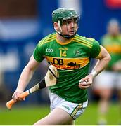 10 October 2021; Conal Cunning of Dunloy during the Antrim County Senior Club Hurling Championship Final match between Dunloy and O'Donovan Rossa at Corrigan Park in Belfast. Photo by Ramsey Cardy/Sportsfile