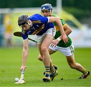 10 October 2021; Aodhán O'Brien of O'Donovan Rossa during the Antrim County Senior Club Hurling Championship Final match between Dunloy and O'Donovan Rossa at Corrigan Park in Belfast. Photo by Ramsey Cardy/Sportsfile